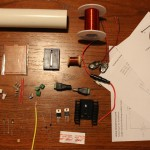Basic Blocking Oscillator Tesla coil Kit
